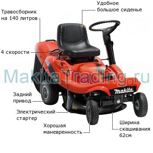 газонокосилка райдер макита prm0600