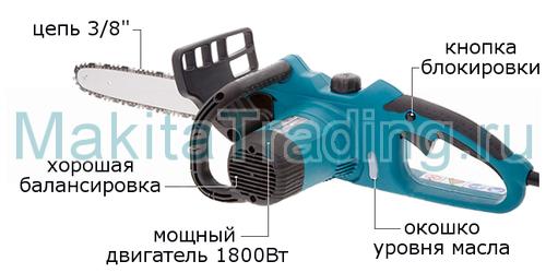 Makita Uc3510a инструкция - фото 5