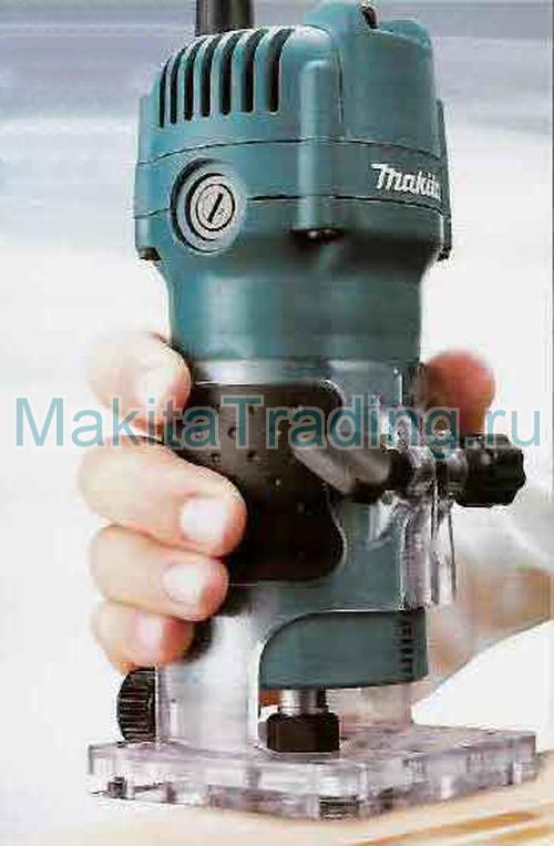 фрезерование триммером makita 3709
