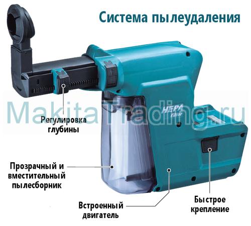 bhr242 - устройство системы пылеудаления
