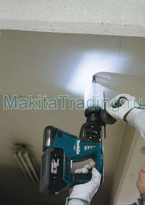 макита bhr262 с пылесборником (опция)