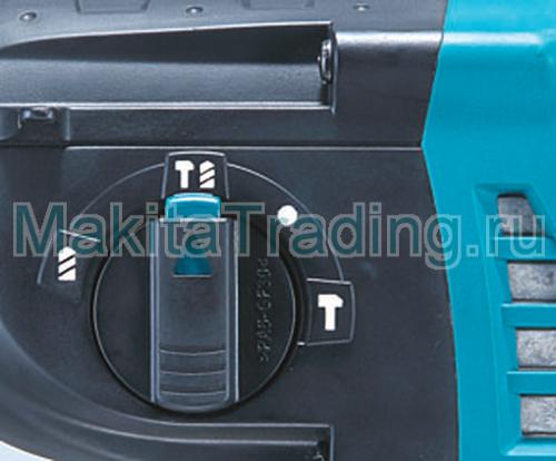 трехрежимный перфоратор макита bhr262