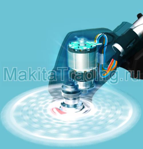 безщеточный мотор в makita bur182u