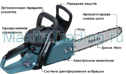 Бензопила Макита 5200 Инструкция - фото 10