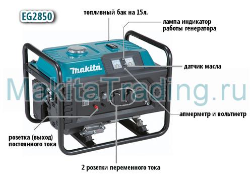 генератор макита eg2850