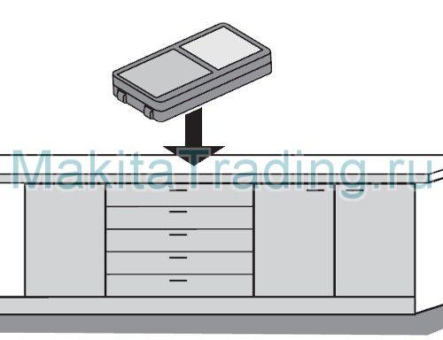 Функция определения угла наклона Макита ld080pi
