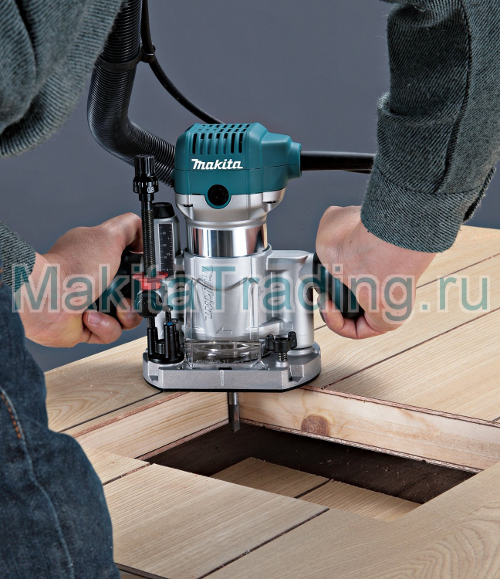 makita rt0700CX2 в работе