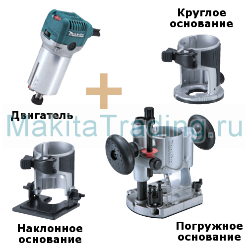 набор makita rt0700CX2