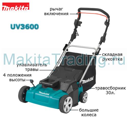 устройство скарификатора макита uv3600