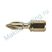 Биты Makita B-28503 PH2 для металла 25мм 2шт