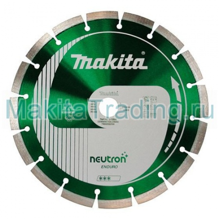Диск алмазный Makita B-13633 Neutron Rapid 300х20мм